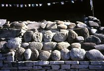 Nepal - Khumbu Himal, Manisteine von Karel Plechac