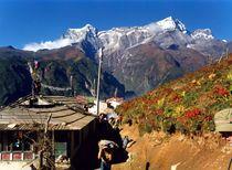 Nepal - Khumbu Himal, Sherpasiedlung Namche Bazar von Karel Plechac