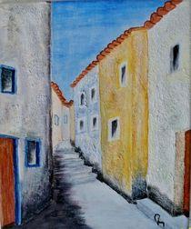 Kleine Gasse in Andalusien von Heinrich Reisige