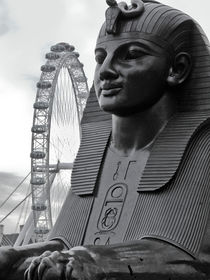 Sphinx and London Eye by David Halperin