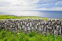 Dry stone wall in County Clare, Ireland by kbhsphoto