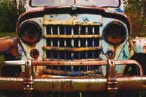 Vintage Jeep Willys, Retired  by Debra  Carr Brox