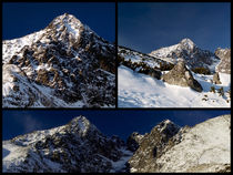 Winter Mountain Collage von Tomas Gregor