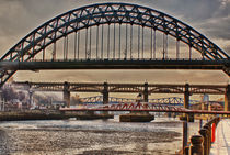 Winter Tyne von John Ellis