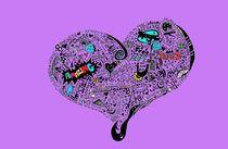 Heartfull in color von Casey Virata