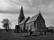 The Parish Church of All Saints by Sarah Couzens