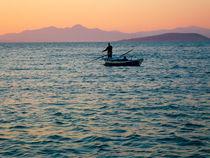Greek fisherboat von Andreas Jontsch