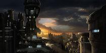 Nydenion - Argantus City  von Jack Moik