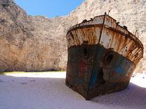 Griechenland Greece Zakynthos Wreck von Andreas Jontsch