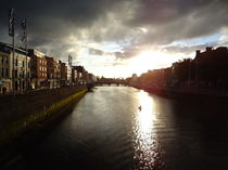 O'Connell bridge Dublin  by Azzurra Di Pietro