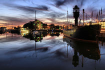 Hull Marina at Dusk von martinhenry