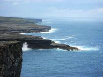 Inishmore Cliff II by Azzurra Di Pietro