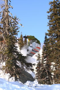 Snowboard #5 by Mikhail Shapaev