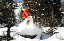 Snowboard #3 von Mikhail Shapaev