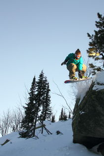Snowboard #2 von Mikhail Shapaev