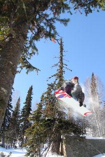 Snowboard #1 von Mikhail Shapaev