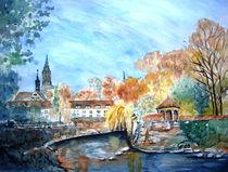 Konstanz im Herbst von Christine  Hamm
