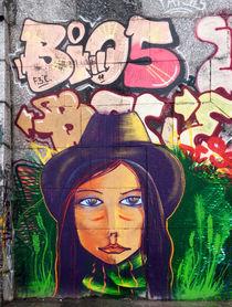 Grafitti portrait, Kiev by Graham Prentice