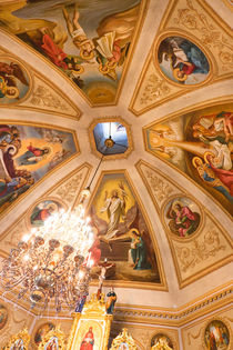 Illuminated Ceiling, Kiev Church von Graham Prentice