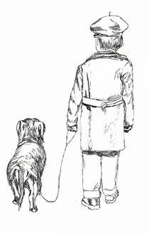 Kind mit Hund by Susanne Edele