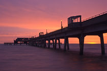 Deal Pier at Sunrise by Alice Gosling
