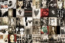 Art Collage by Christine Lamade