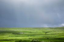 Grazing land on a hillside in County Clare, Ireland von kbhsphoto