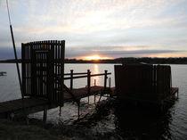 Dock of the Bay von Debra Scribner