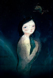 Pisces the mermaid von Paola Zakimi