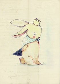 'Bunny, Rabbit, Bum Bum is a King' von Paola Zakimi