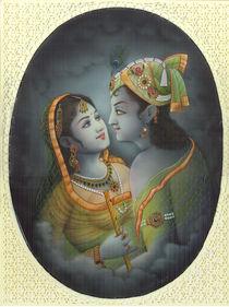 lovers in blue von Jitendra sharma