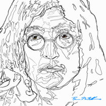 John Lennon by Brian MacMillan