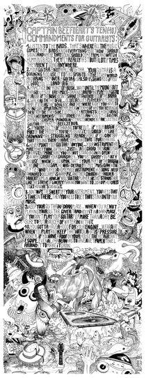 Beefheart-print