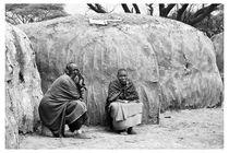 Maasai Mütter by Wolfgang Cezanne