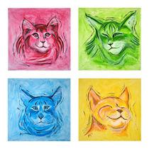 Quartett - Katzenliebe von Annett Tropschug
