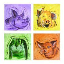 Schweinereien - Quartett von Annett Tropschug