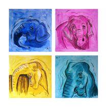 Die Elefantinios von Annett Tropschug