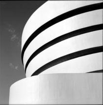 Manhattan #05 Guggenheim Museum New York von Wolfgang Cezanne