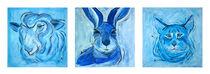Blau, so blau von Annett Tropschug