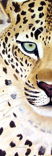 Leopard Panorama hoch by Annett Tropschug