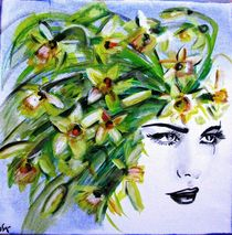 Frühlingsfrau von atelier-farbenherz