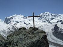 Wallis, Monte Rosa 4634 m und Liskamm  von Karel Plechac