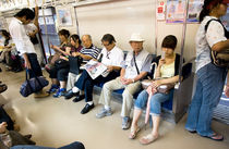 Subway Tokio by Rubi Rincon Peña
