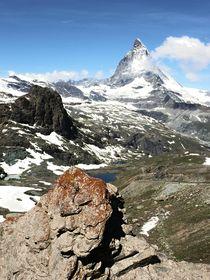 Matterhorn, die Farben der Berge von Karel Plechac