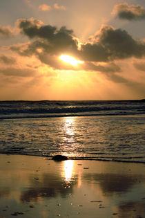 Bracelet Bay Sunset by Dan Davidson