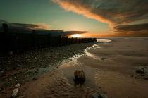 Beach Sunset by John Hare