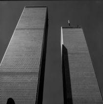 Manhattan #07 World Trade Center 1999 by Wolfgang Cezanne