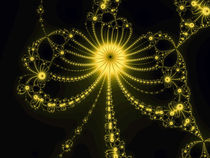 Yellow fractal von Odon Czintos