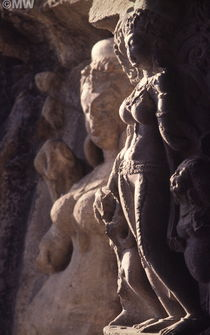 Ellora Temple Carvings von David Halperin