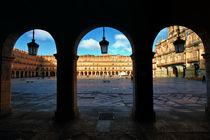 Salamanca. Plaza Mayor by Víctor Bautista